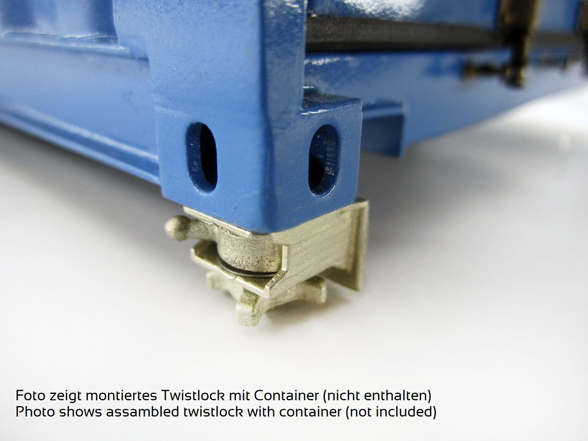 FineScale Twistlock (für COMVEC-FineScale-Container)