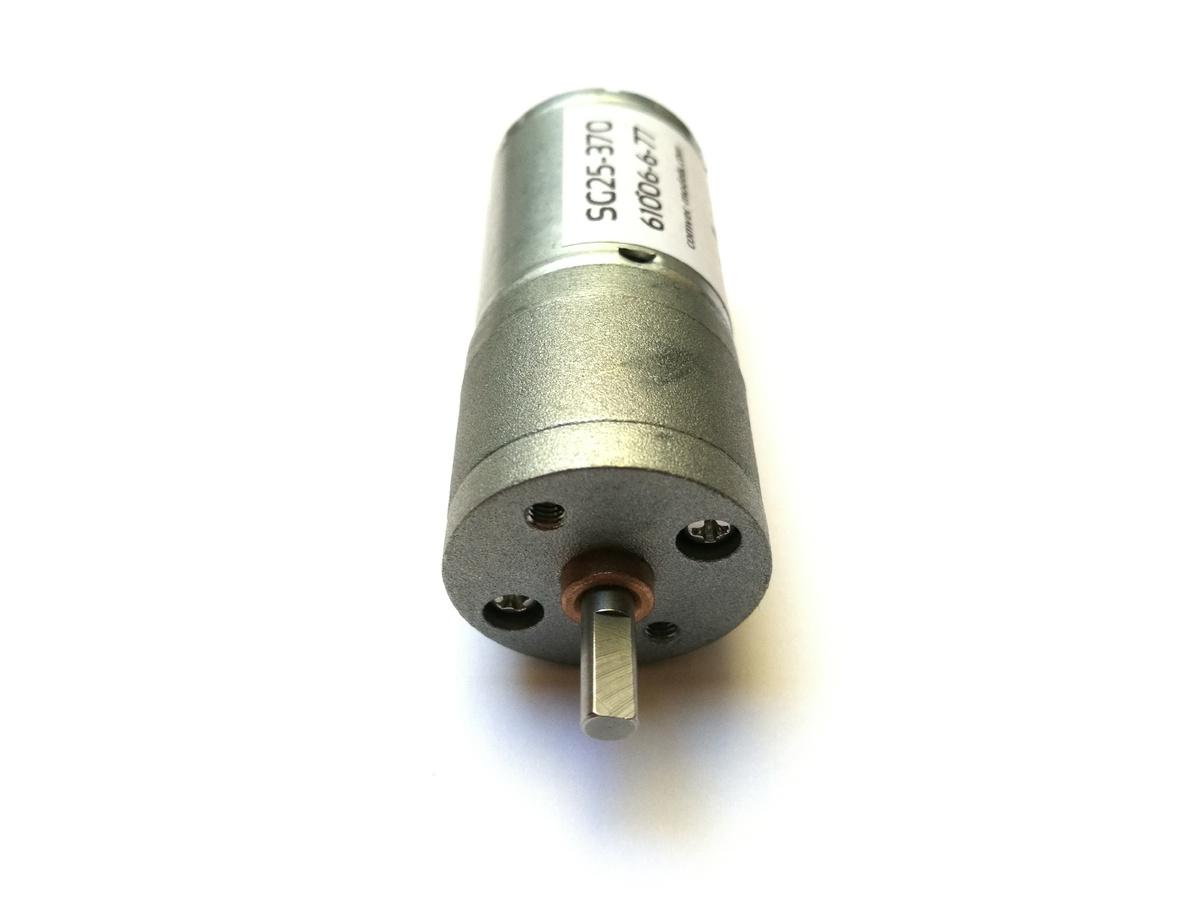 Getriebemotor COMVEC 20mm DC Stirnrad-Getriebemotor SG20-130 6V // 7,2V, 12V