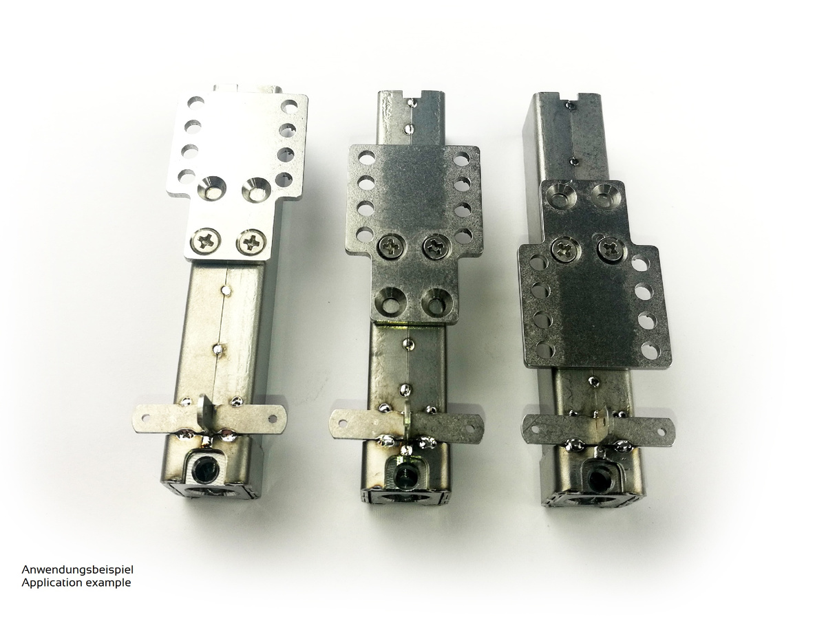 Adapter plate suitable for ScaleArt® for electric support leg