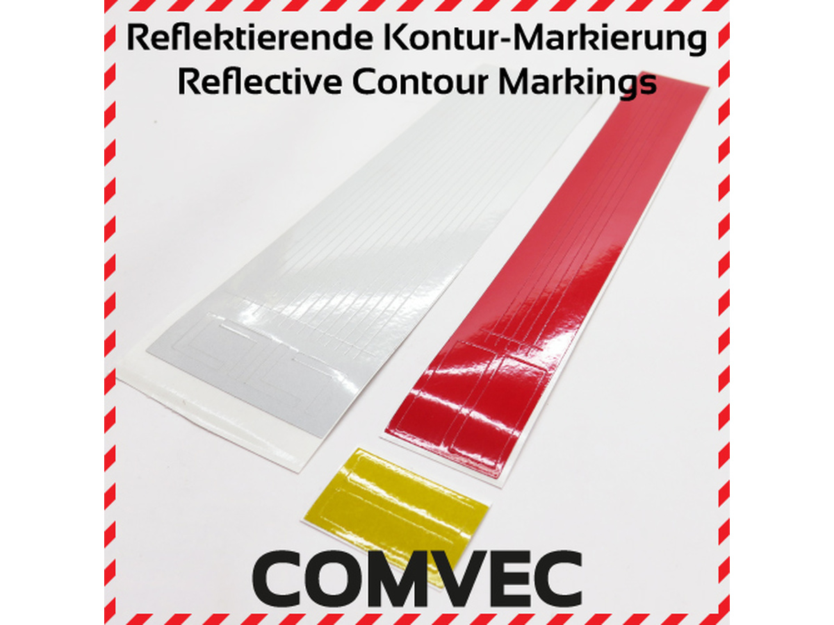 Reflective Contour Markings